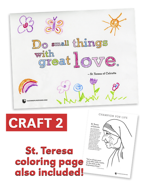 Do Small Things with Great Love: Saint Teresa of Calcutta (Printed Version)