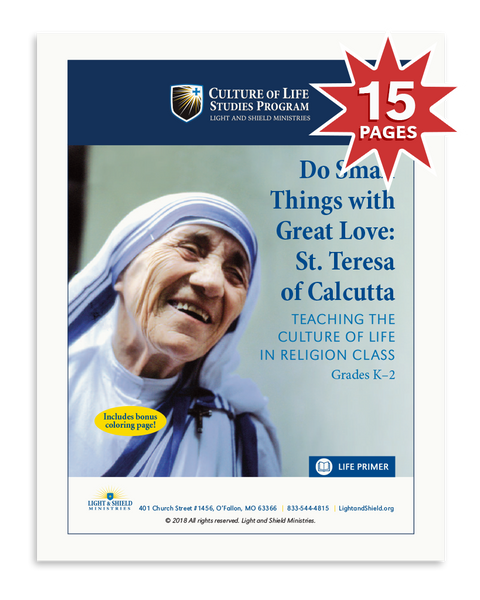 Do Small Things with Great Love: Saint Teresa of Calcutta (Digital Download)