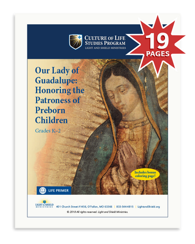 Our Lady of Guadalupe: Honoring the Patroness of Preborn Children (Digital Download)