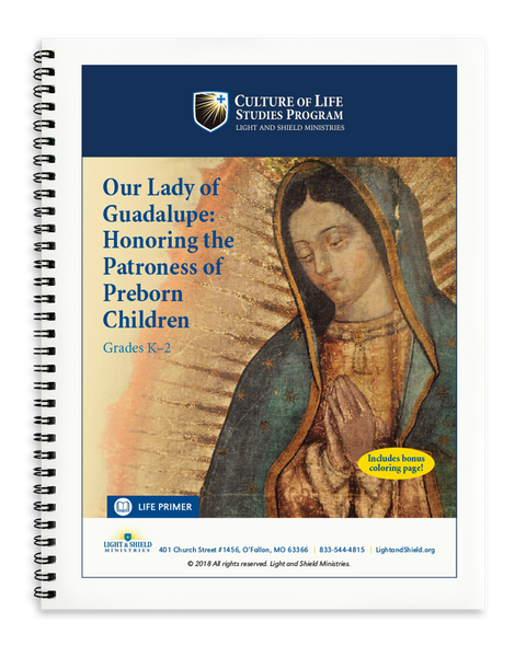 Our Lady of Guadalupe: Honoring the Patroness of Preborn Children (Printed Version)