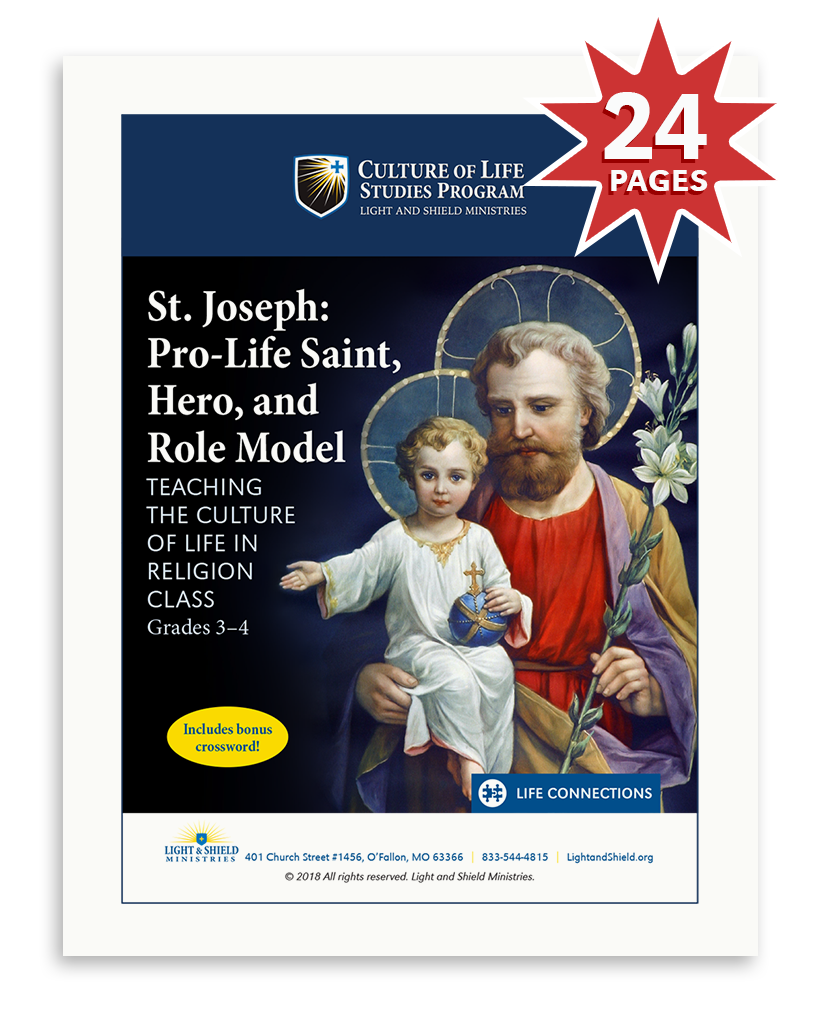 St. Joseph: Pro-Life Saint, Hero, and Role Model (Digital Download)