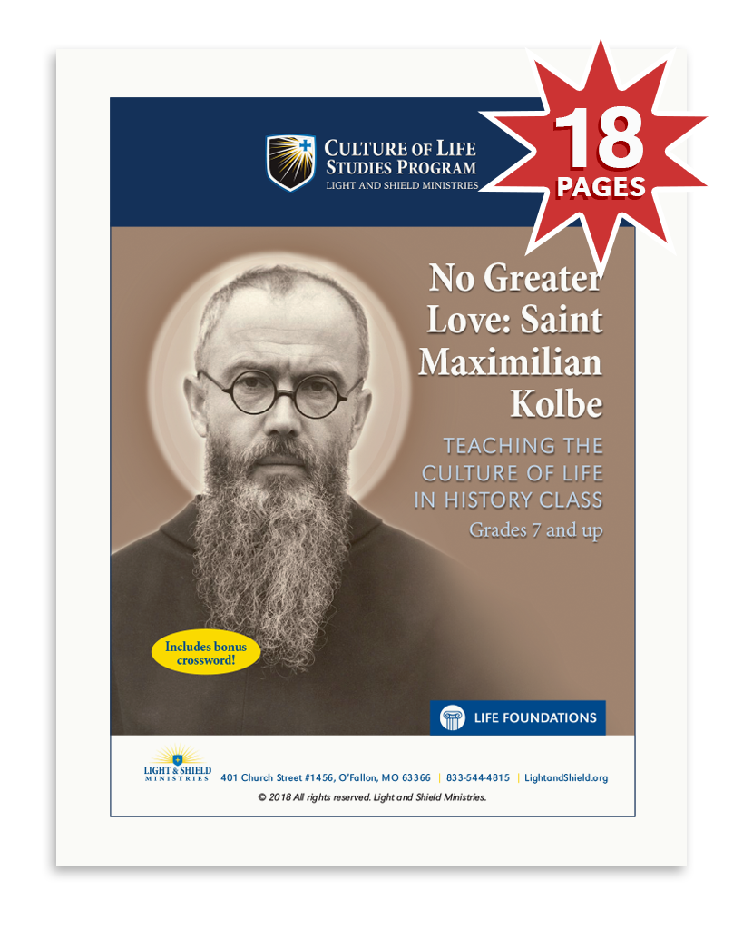 No Greater Love: Saint Maximilian Kolbe (Digital Download)