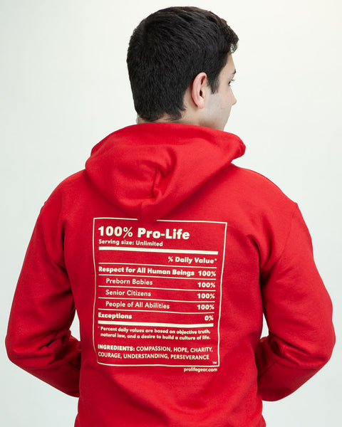 Limited Edition 100% Pro-Life Sweatshirt
