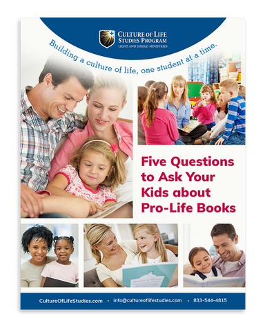 Five Questions to Ask Your Kids about Pro-Life Books (Digital Download)