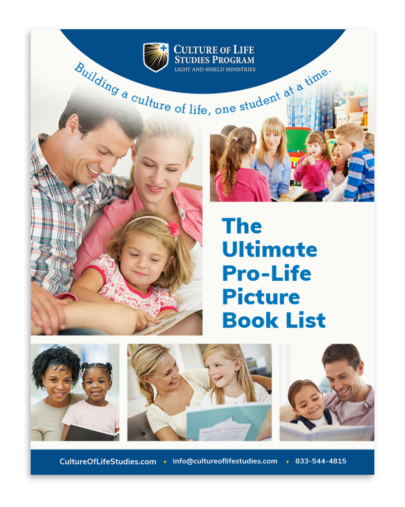 The Ultimate Pro-Life Picture Book List (Digital Download)