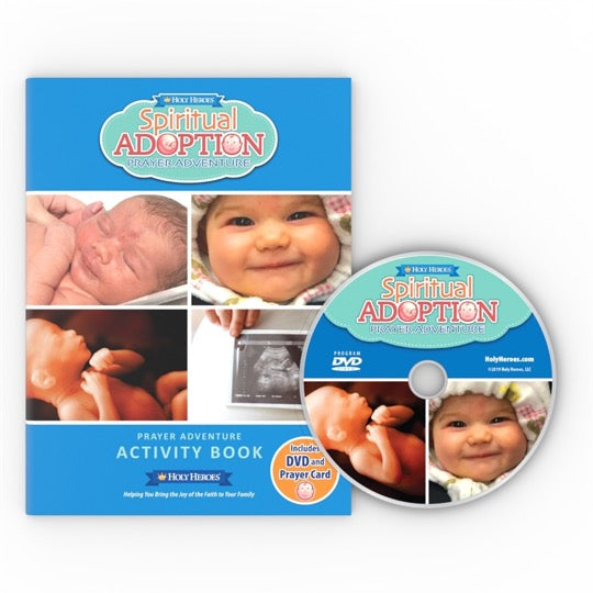 Spiritual Adoption Complete Activity Book and DVD Set