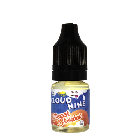Cloud 9 Peach Sherbert - Premium Liquid