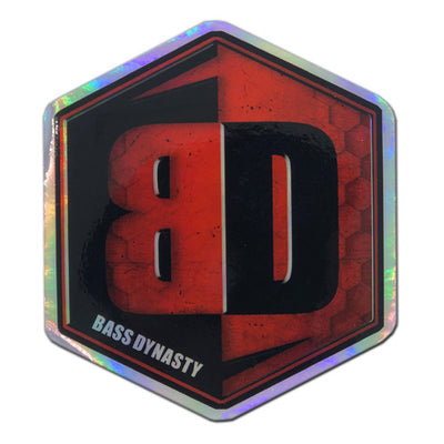 "Premium Decal - Holographic 2.75"" x 3"""