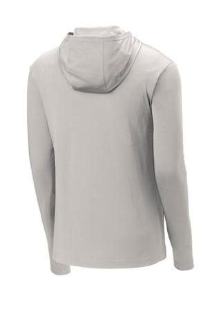 Premium Light Grey SPORT-TEK Lightweight Hooded Pullover