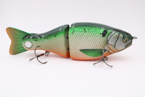 "NEW DYNA-GLYDE 7 - 8"" TENNESSEE SHAD - Slow Sink - Bass Dynasty - 1"