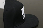 Premium Puff Embroidered Snapback - Black (W/B)