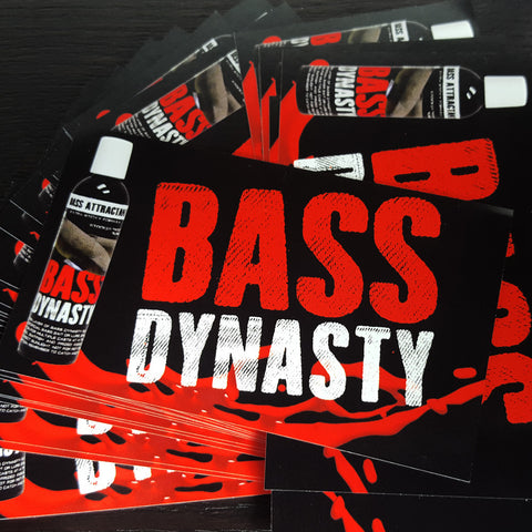 Indoor Stickers - Bass Dynasty