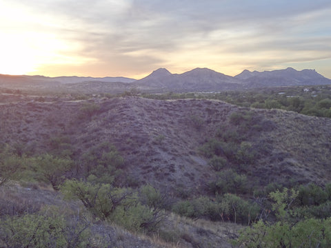 The Santa Rita Mountains just north of my former home in Patagonia, Arizona.