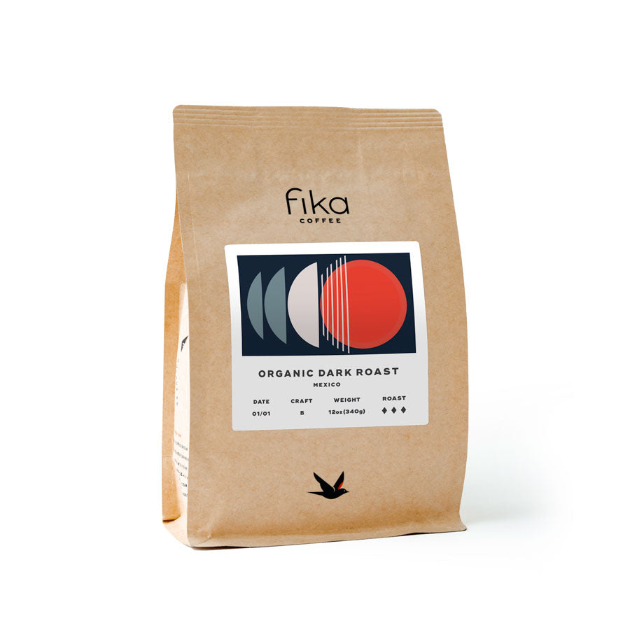 12oz (340g) Organic Dark Roast, Mexico (subscription)