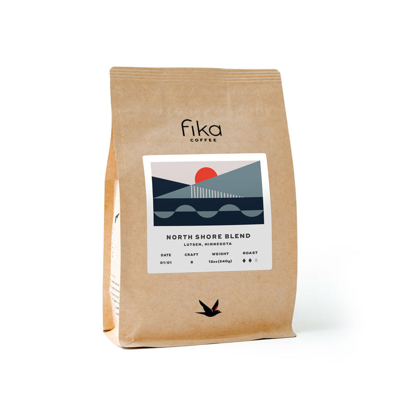 12oz (340gr) North Shore Blend, a seasonal house blend (subscription)