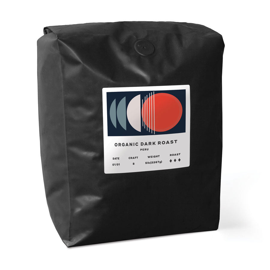 Organic Dark Roast, Mexico - 5lb