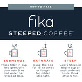 Fika Coffee Steeped - 10 Pack