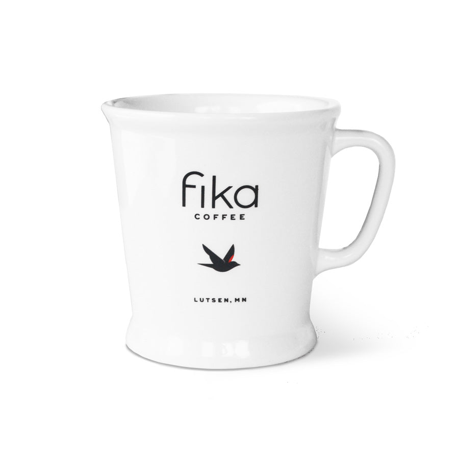 Our Lutsen Fika Logo Mug - 8oz.