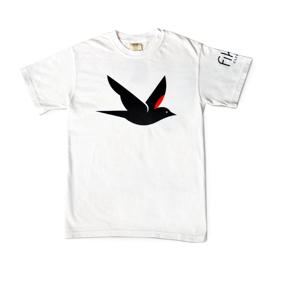 Fika Bird White Tshirt
