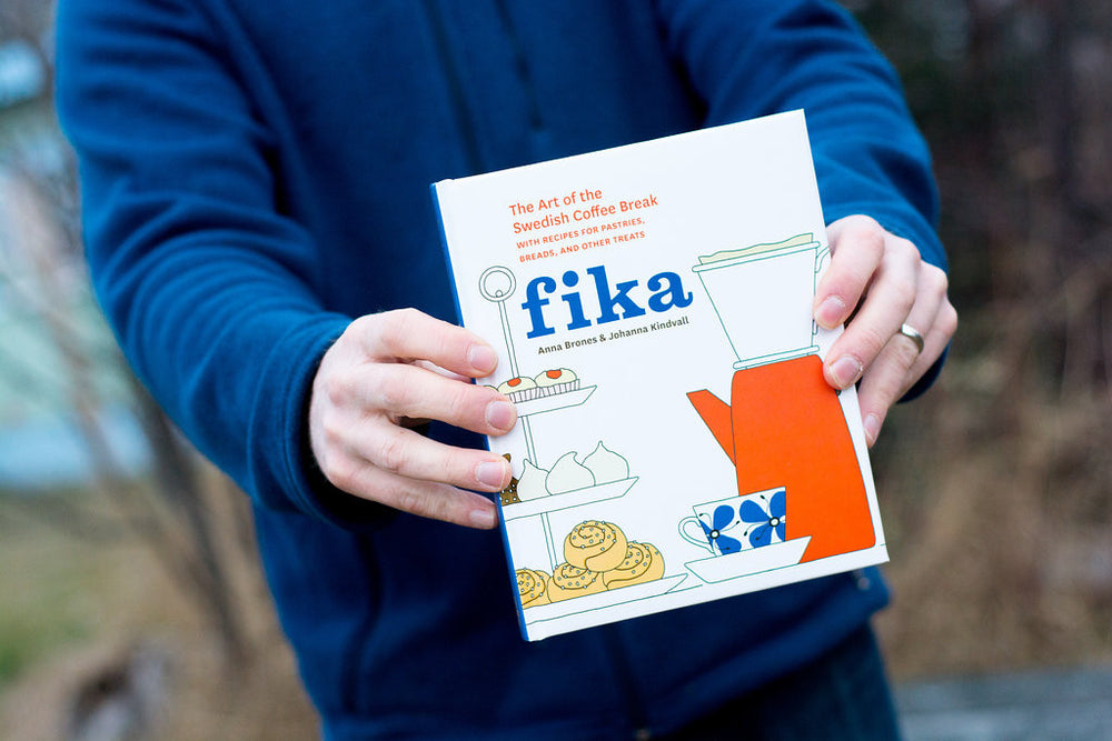 Fika: The Art of the Swedish Coffee Break with recipes for pastries, breads, and other treats