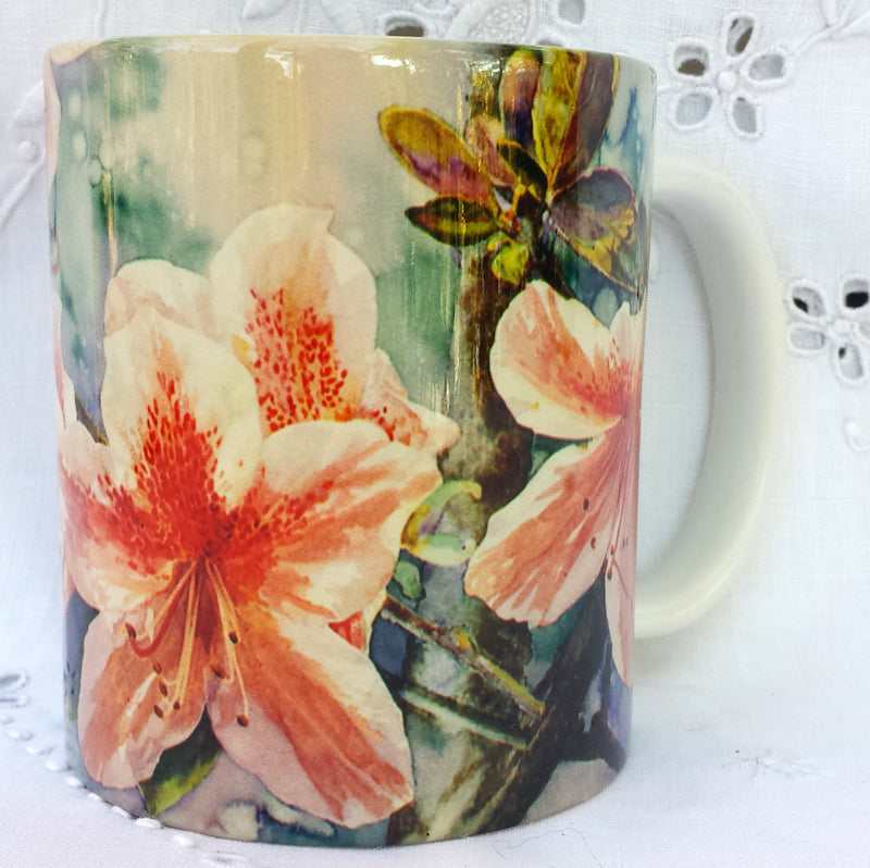 Cup / Mug & Bookmark - Azalea Ben Morrison  - a Favorite for a Morning Delight