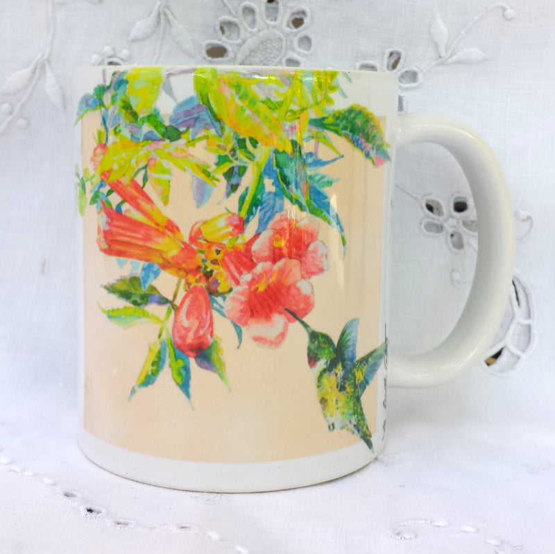 Cup / Mug & Bookmark - Hummingbirds - a Favorite for a Morning Delight