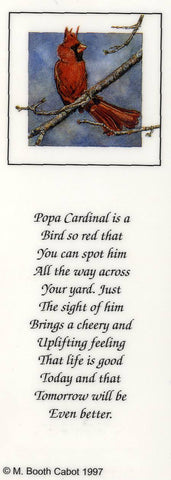 Bookmark - Windy Cardinal