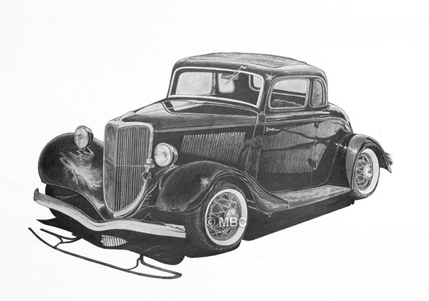 Automobile - Ford '5-Window Coupe'