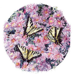Butterfly - Swallowtail Butterflies I - Watercolor