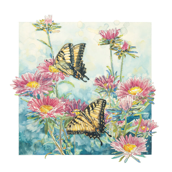 Butterfly - Swallowtail Butterflies II - Watercolor
