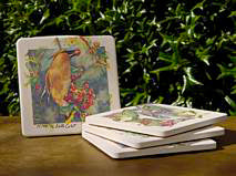 Coasters - CoasterStone® - Set of 4 Birds