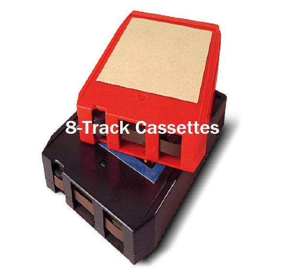 8-Track Cassette Tapes