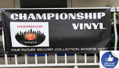 Like Championship Vinyl Online Record Store in Canada on Facebook