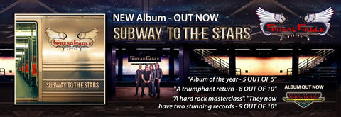 Buy Spread Eagle Subway to the Stars album on Frontiers Records