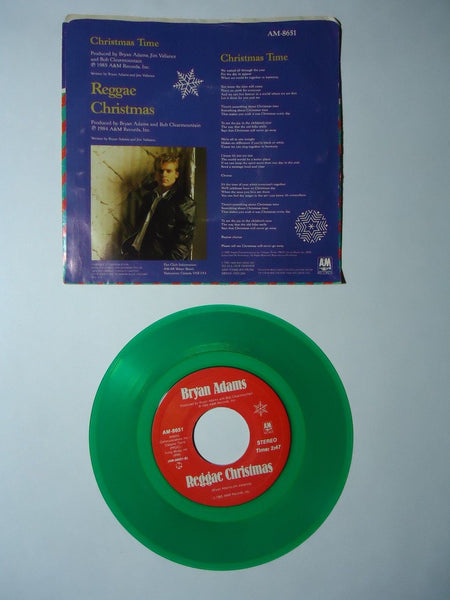Bryan Adams - Christmas Time / Reggae Christmas [Color Vinyl]