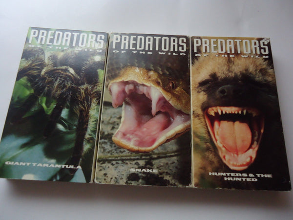 Time Life: Predators of the Wild [Lot of 3]