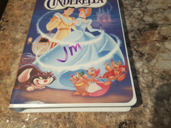 Disney's Cinderella (VHS, 1995) Clamshell Case
