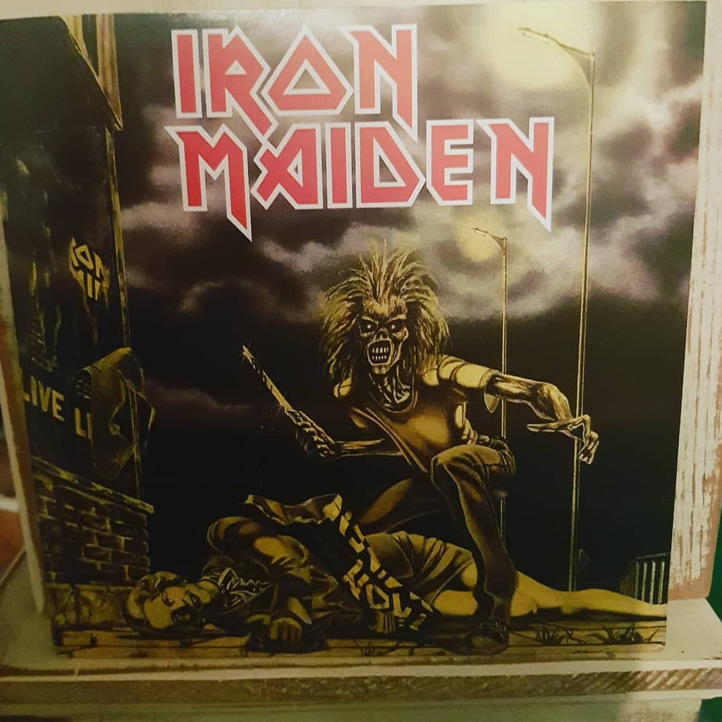 "Iron Maiden ‎– Sanctuary [7"" Single] [Limited Edition] [Reissue] LP"