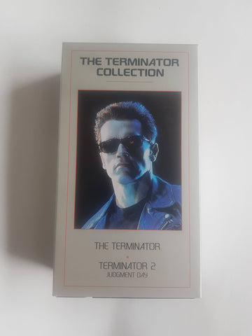 The Terminator Collection (VHS, 1995) Judgement Day [2 Cassette Box Set]