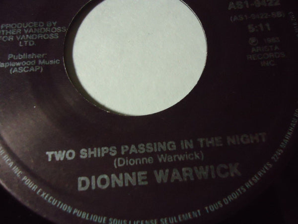 Dionne Warwick - That's What Friends Are For / Two Ships