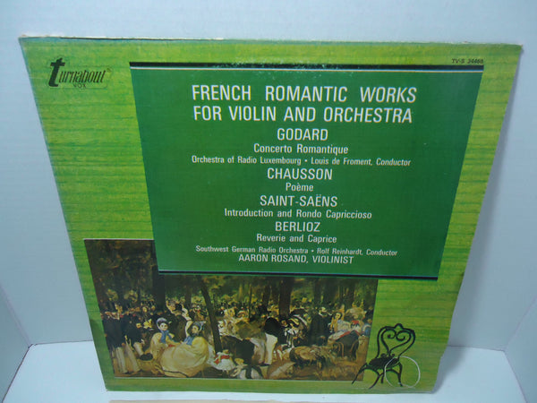 Aaron Rosand - French Romantic Works For Violin & Orchestra
