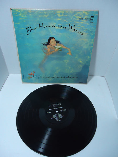 Harry Kaapuni & His Royal Polynesians -  Blue Hawaiian Waters