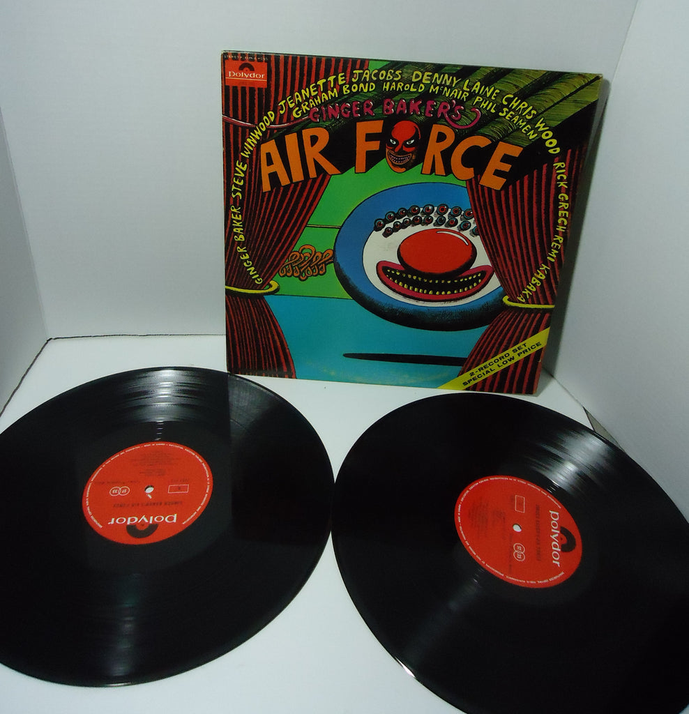 Ginger Baker's Air Force - S/T [Live] [Double LP]