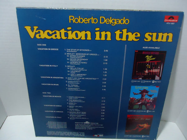 Roberto Delgado - Vacation In The Sun: 18 International Hits