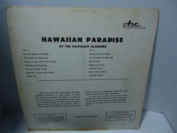 The Hawaiian Islanders - Hawaiian Paradise