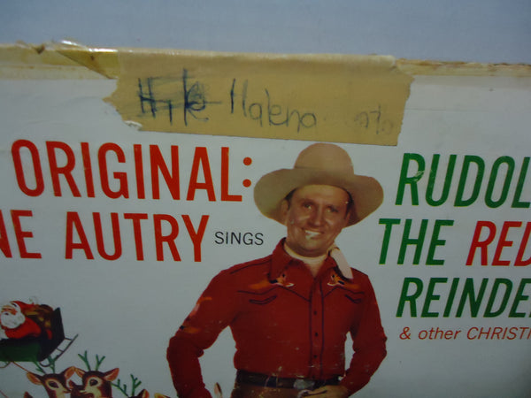 Gene Autry ‎– The Original Gene Autry Sings Rudolph The Red Nose Reindeer