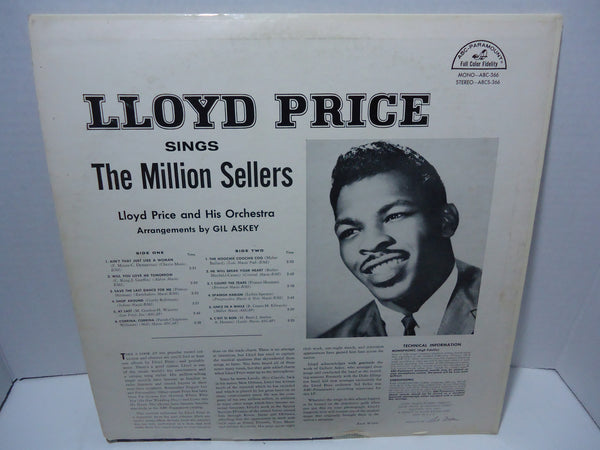 Lloyd Price ‎– Sings The Million Sellers [Stereo]