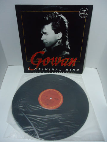"Gowan ‎– A Criminal Mind [12"" Single]"