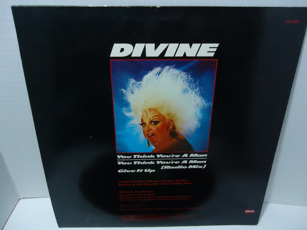 "Divine ‎– You Think You're A Man [12"" Single]"