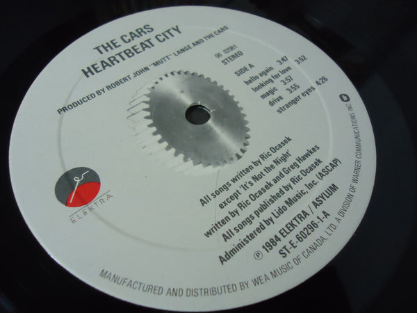 The Cars ‎– Heartbeat City [Gatefold]